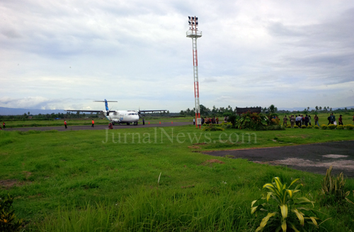 Aktifitas di Bandara Blimbingsari. (Dok)