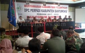Pelantikan DPC Perpadi Banyuwangi. (Wt/JN)