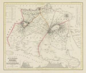 Peta jadul Banyuwangi. (Sumber foto internet).