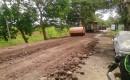 Warga Sumringah Jalan Desa Kesilir Diperbaiki Oleh PT BSI