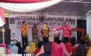 DPR – RI Komisi IX Nur Suhud Bersama BKKBN Gelar Integrasi Kampung KB Di Desa Rejoagung Kecamatan Srono.