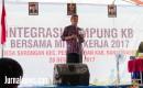 Integrasi Kampung KB Bersama Mitra Kerja 2017 Digelar Di Desa Sarongan.