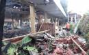 Pendopo Di Area Kantor Desa Tampo Terbakar