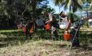Dukung Program Ketahanan Pangan Nasional PUSLATPURMAR 7 Lampon Memanfaatkan Lahan Kosong Di Sekitar Mako