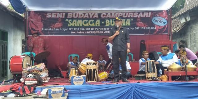 Club Bola Volly New Jatayu Sport Margomulyo Gelar Tasyakuran