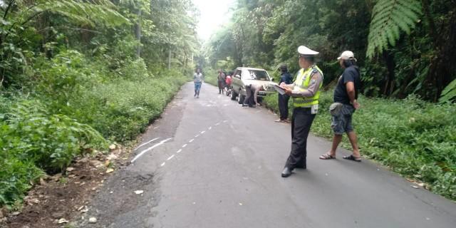 Rombongan Turis Mancanegara Mengalami Kecelakaan Di Jalur Wisata Kawah Ijen