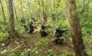 Pelatih Kolatmar Bekali Siswanya Soal Materi Perang Hutan, Di Daerah Hutan Selogiri