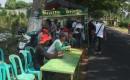 Komunitas Berkah Membuka Warung Gratis Di Jalan Raya Purwoharjo Desa Tampo