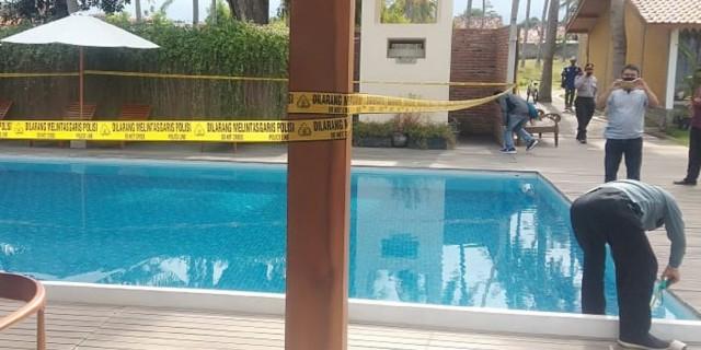 Bocah Tenggelam Di Kolam Renang Villa So Long Terekam CCTV