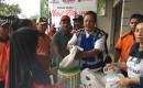 BUMN Melalui PT. Jasa Marga Menjual Pangan Murah Di Desa Tampo. Banyuwangi