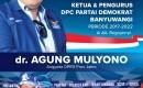 Dokter Agung DPRD Jatim, Hadiri Pelantikan Pengurus DPC Demokrat Banyuwangi.