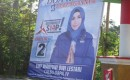 Bacaleg Sudah Mulai Pasang Baliho; Di Jalan Raya Gambiran