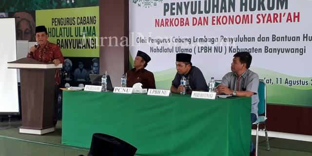 PCNU Banyuwangi Ajak Kadernya 'Ngaji' Bareng Bahaya Narkoba
