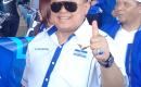 DPRD Propinsi Komisi A, Dr. Agung Ajak Muda – mudi Partai Demokrat Selalu Jalan Sehat.