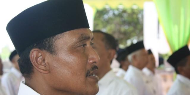 Dam Pancorsari Menjadi Tempat Pelantikan Anggota BPD SE Kecamatan Cluring