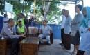 Pos Polisi Lalu Lintas Jajag Digeruduk Pedagang Pasar